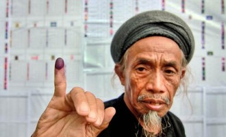 High voter turnout  noted in Indo polls