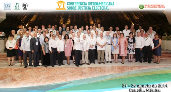 VI Ibero-American Conference of Electoral Justice: The role of justice as electoral endorsement